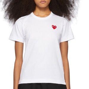 Comme des Garçons Play T-Shirt Size M